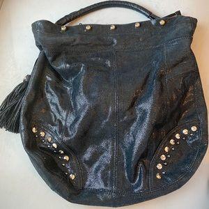 Guess by Marciano Black Cressida Hobo Bag